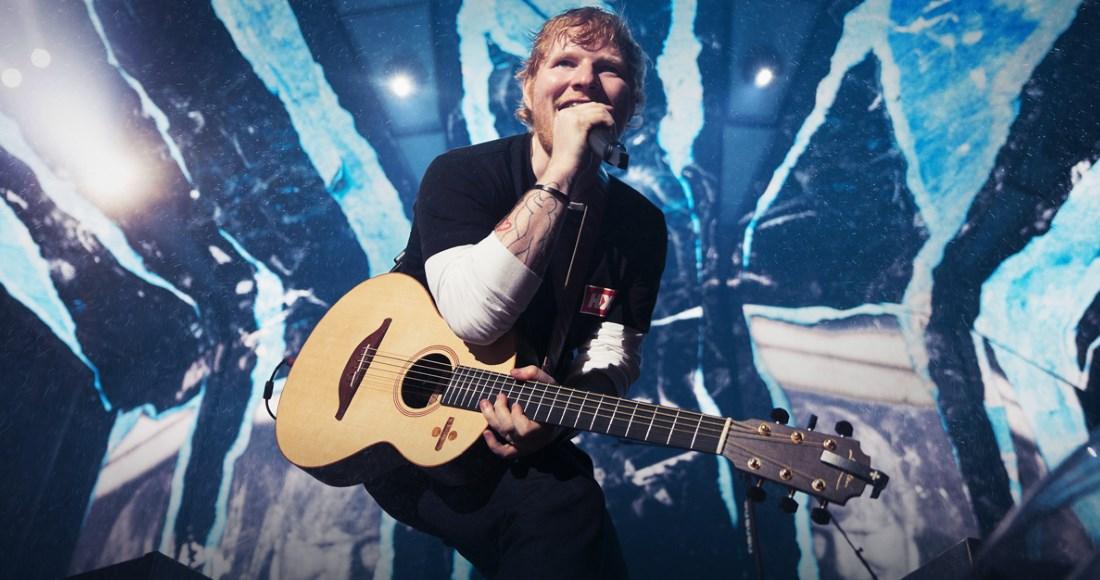 Ed Sheeran claims fourth week at Albums Chart top spot