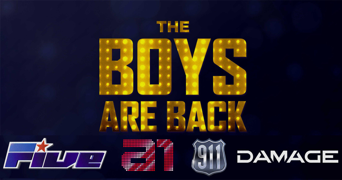 Five, A1, 911 and Damage talk Boys Are Back tour