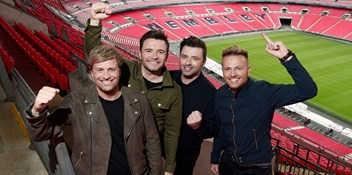 Westlife set to headline Wembley Stadium for the first time