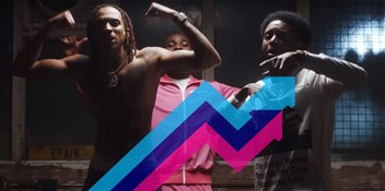 D-Block Europe and Dave's Playing For Keeps lands at Number 1 on the Official Trending Chart