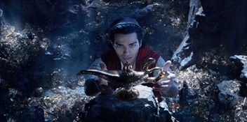 Disney's live-action Aladdin flies to Number 1 after surpassing a quarter of a million sales