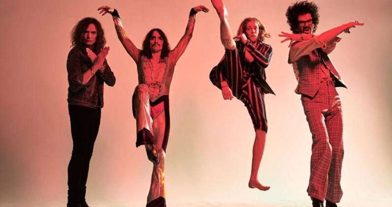 The Darkness complete UK singles and albums chart history