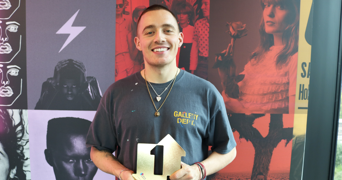 """Dermot Kennedy scores Number 1 debut album with Without Fear: """"I appreciate it so much"""""""