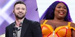 "Justin Timberlake talks Lizzo collaboration: ""It's flames"""