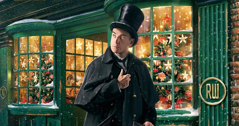 Christmas Albums Coming Out In 2019.Robbie Williams Announces Christmas Album Tracklist Uk Show
