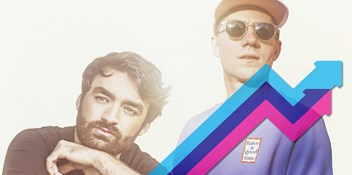 Riton and Oliver Heldens' Turn Me On takes Number 1 spot on the Official Trending Chart