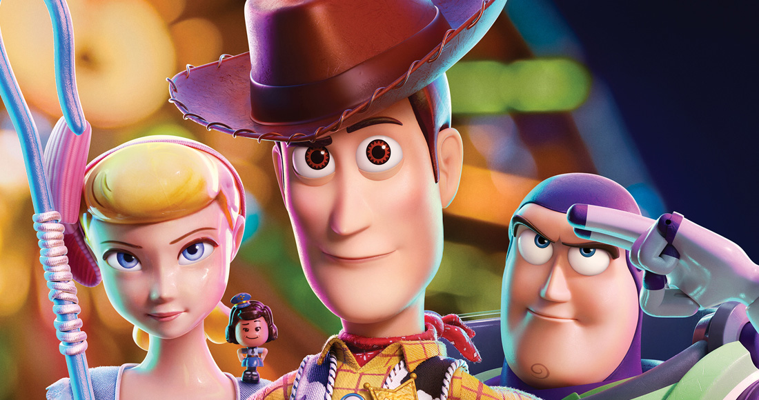 Toy Story 4 soars to Infinity and Number 1 on this week's Official UK Film Chart