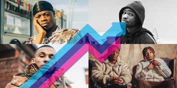 UK rappers J Hus, Dave, Fredo and Young T and Bugsey dominate the UK's Official Trending Chart