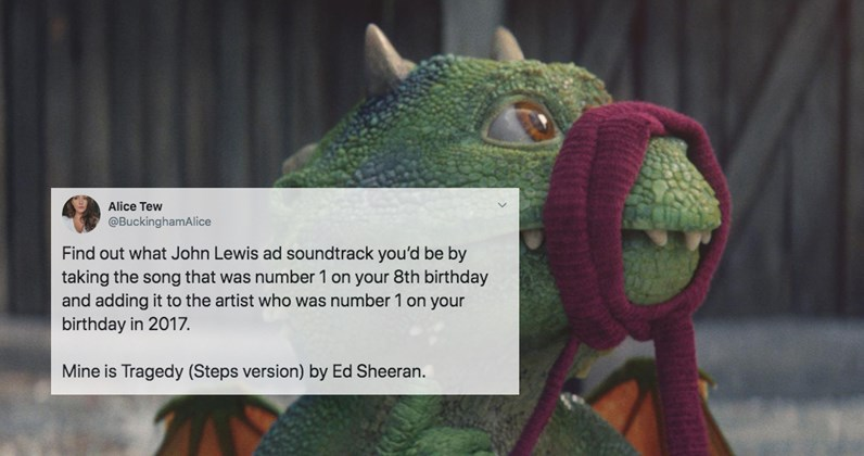 Find out which song and artist your John Lewis Christmas