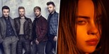 Westlife and Billie Eilish heading for Number 1s in Ireland