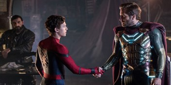 Spider-Man: Far From Home finally snares Number 1 glory on the Official Film Chart
