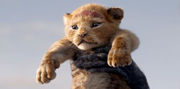 The Lion King roars into the Number 1 spot on the Official Film Chart
