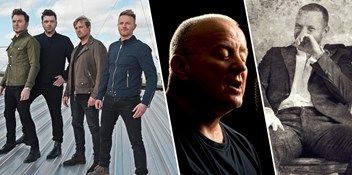 Westlife outsell Christy Moore and Coldplay to retain Number 1 on the Official Irish Albums Chart