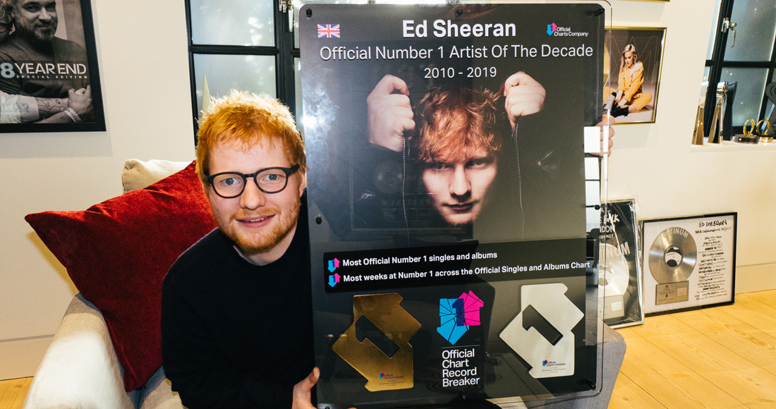Ed Sheehan named UK's Artist of the Decade