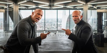 Fast and Furious: Hobbs and Shaw screeches into Number 1 on the Official Film Chart