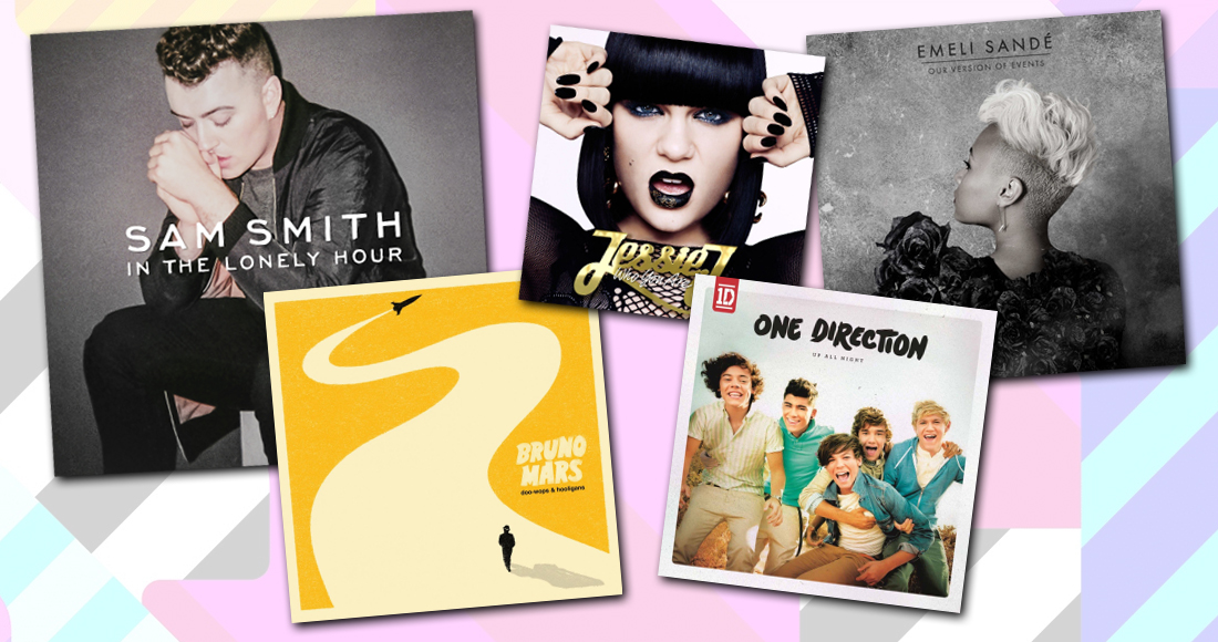 Official Top 40 biggest debut albums of the decade