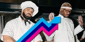 Future and Drake's Life Is Good is Number 1 on the Official UK Trending Chart
