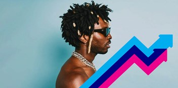 Roses by Saint Jhn is Number 1 on the UK's Official Trending Chart