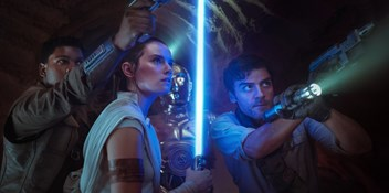 Star Wars: The Rise of Skywalker takes Official Film Chart Number 1 for a third week running