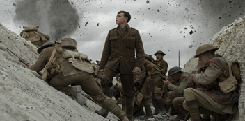 1917 debuts at Number 1 on the Official Film Chart on digital downloads only