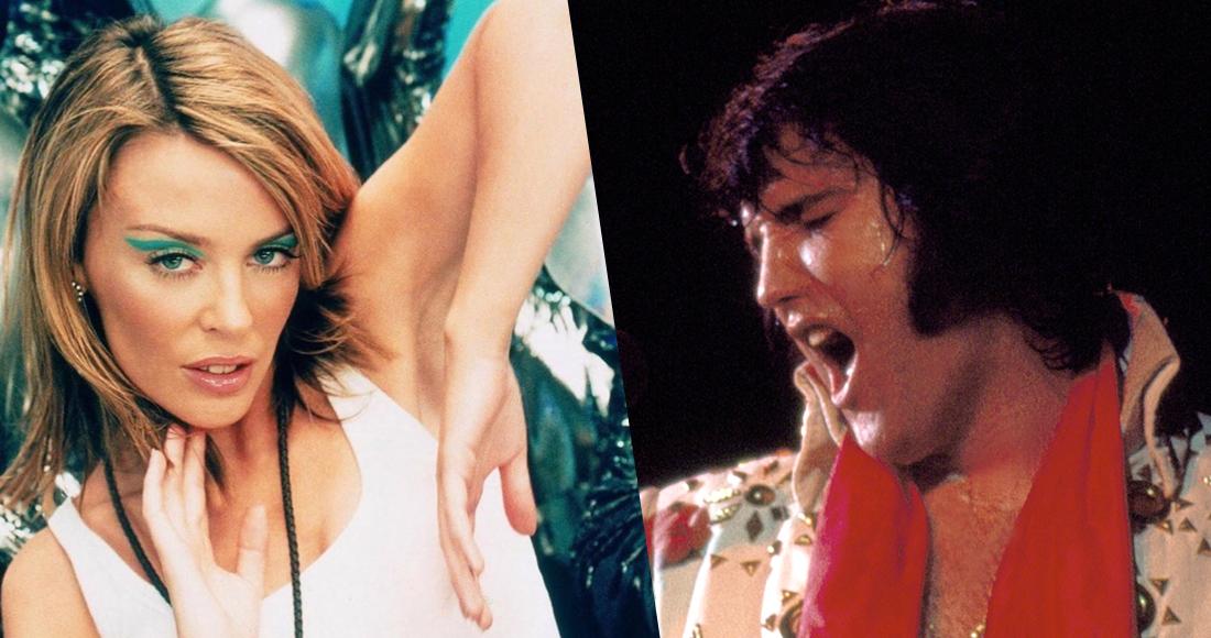 Chart Flashback: Kylie vs. Elvis for Number 1 in 2002