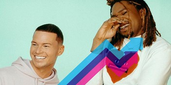Joel Corry and MNEK's Head and Heart is Number 1 on the Official Trending Chart