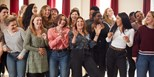 Military Wives sings to Number 1 on the Official Film Chart