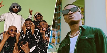 NSG, WizKid and Darkoo battle it out for the first Number 1 on the Official Afrobeats Chart