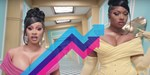Cardi B & Megan Thee Stallion score UK's Number 1 trending song