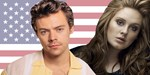 Harry Styles matches Adele by pulling off a rare chart feat