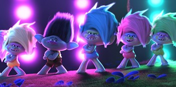 Trolls World Tour is the longest reigning Film Chart Number 1 as it earns a sixth week at the top