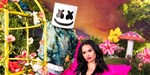 Marshmello and Demi Lovato on track for Official Singles Top 40 debut with OK Not To Be OK
