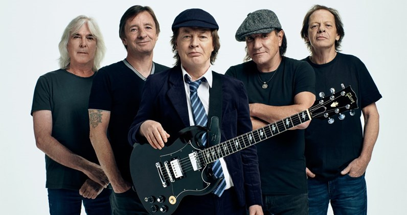 AC/DC's Official Top 10 most-streamed songs
