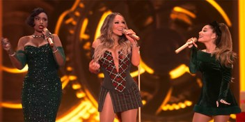 Mariah Carey debuts Oh Santa! remix with Ariana Grande and Jennifer Hudson: Watch the duet here