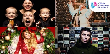 LadBaby makes a flying start in the race for the 2020 Official Christmas Number 1 with Don't Stop Me Eatin'