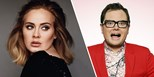 "Alan Carr teases ""amazing"" new Adele album"