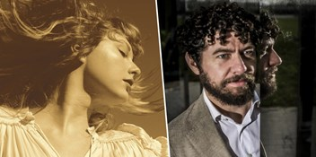 Taylor Swift and Declan O'Rourke contending for Number 1 on the Official Irish Albums Chart