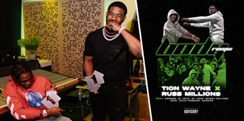 Tion Wayne & Russ Millions score first UK Number 1 drill single with Body