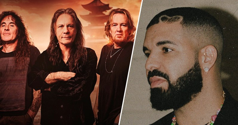 Iron Maiden clash with Drake for the UK's Number 1 album